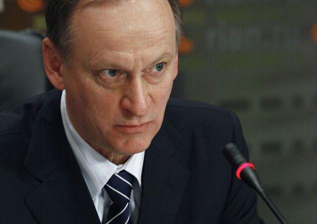 Russian Security Council Secretary Nikolai Patrushev