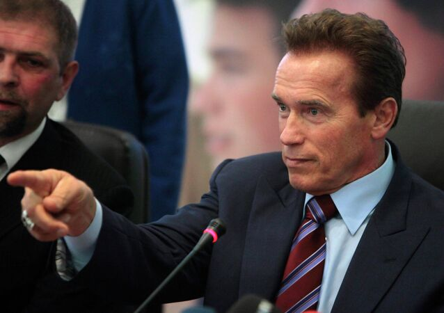 Arnold Schwarzenegger, file photo.