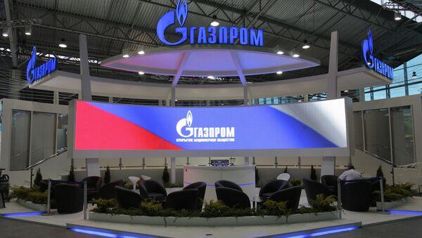 Russia's gas giant Gazprom - Sputnik International