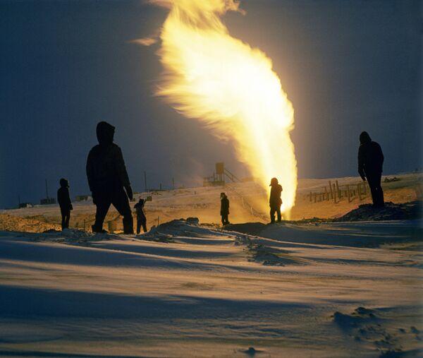 Gas extraction on the Yamal Peninsula - Sputnik International