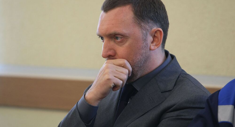 Russian aluminum tycoon Oleg Deripaska