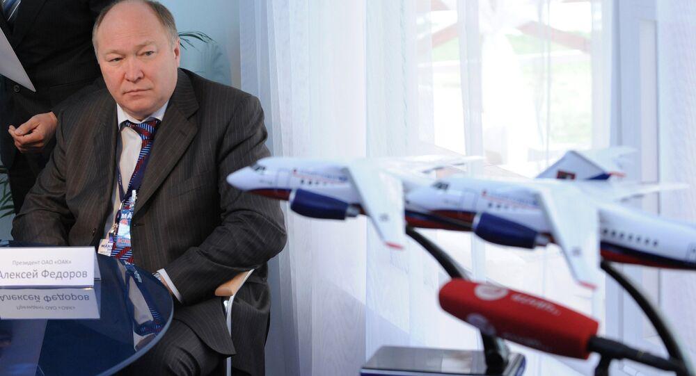 The United Aircraft Corporation (UAC) President Alexei Fyedorov