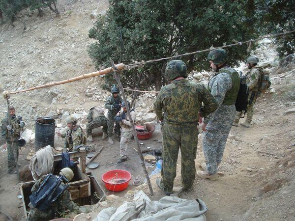 Joint Russian-American anti-drug operation in Afghanistan - Sputnik International