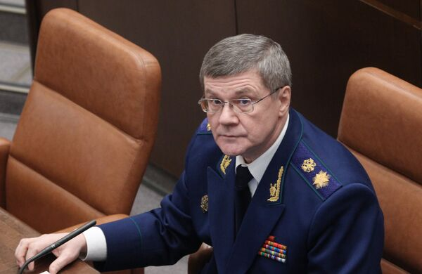 Prosecutor General Yury Chaika - Sputnik International
