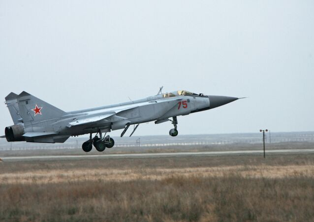 Russian MiG-31 fighter