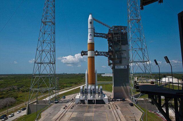 A United Launch Alliance Delta IV rocket
