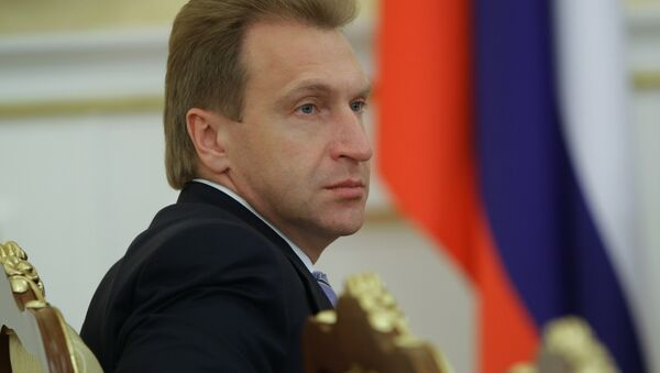 Russian First Deputy Prime Minister Igor Shuvalov - Sputnik International