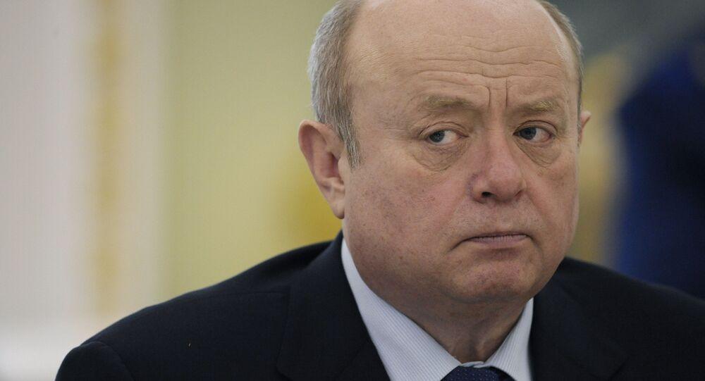 SVR Director Mikhail Fradkov