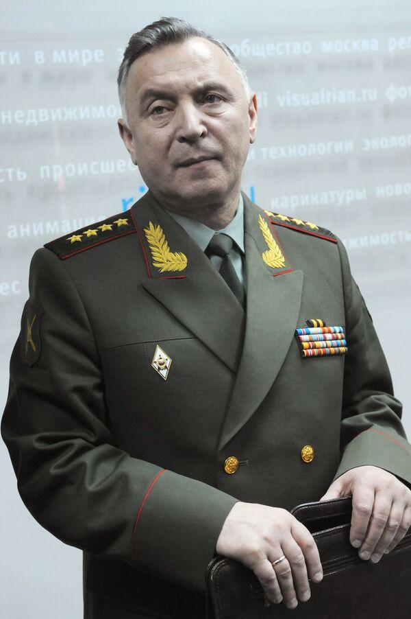 The chief of Russia's Armed Forces General Staff Nikolai Makarov - Sputnik International