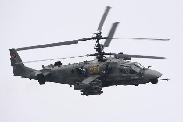 Ka-52 helicopter - Sputnik International