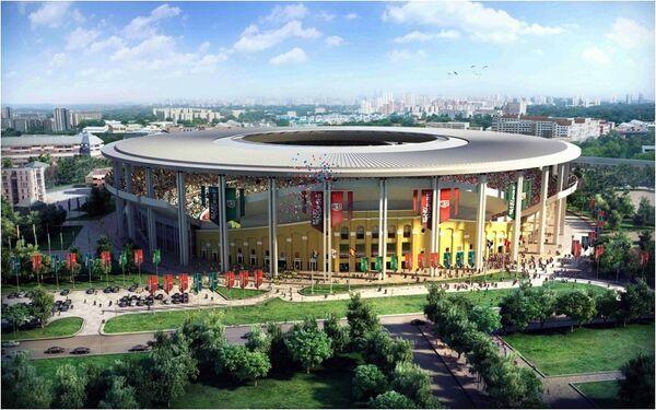 Central Stadium, Yekaterinburg - Sputnik International