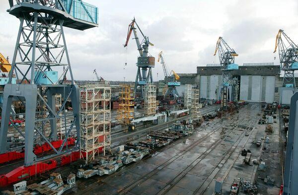 Yantar Shipyard - Sputnik International