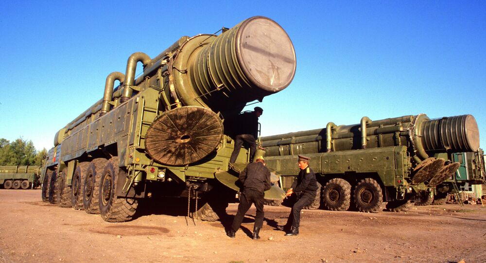 Mobile missile launcher