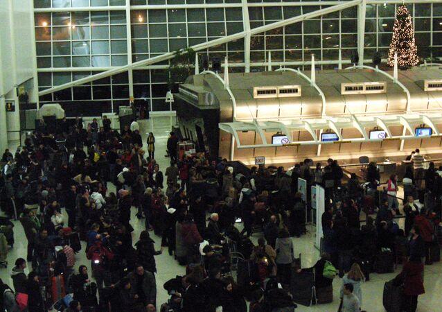 JFK airport  in New York, US
