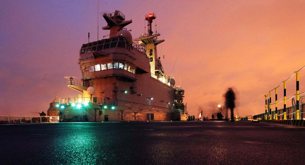 Mistral class amphibious assault ship