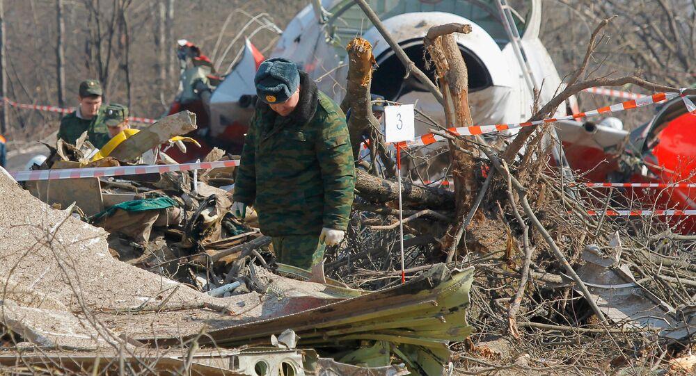 Lech Kaczynski's Tu-154 plane crashed in Smolensk