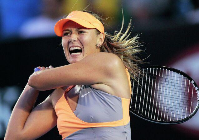 Russian tennis star Maria