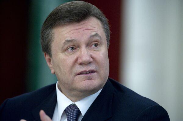 Ukrainian President Viktor Yanukovych suggested on Friday building the South Stream through Ukrainian territory. - Sputnik International
