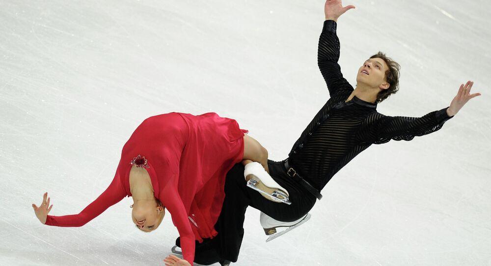 Ekaterina Bobrova and Dmitri Soloviev