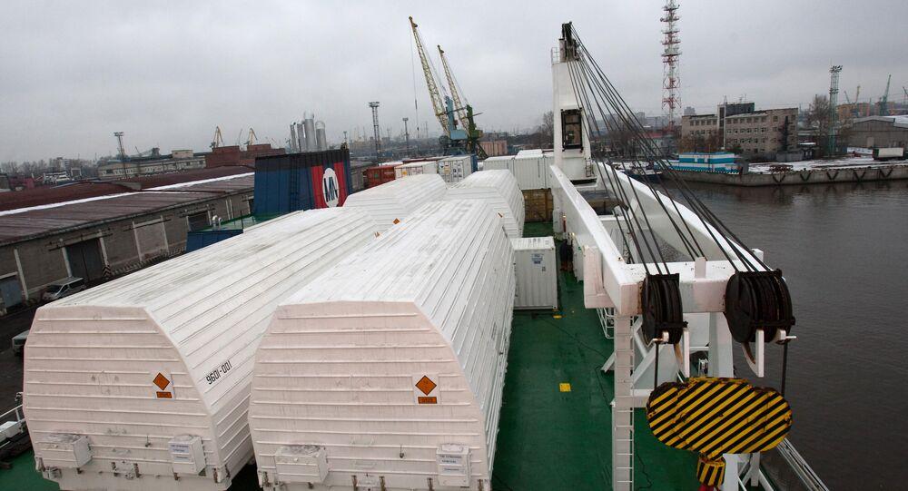 Russian Soyuz-ST carrier rockets sent to Kourou space center