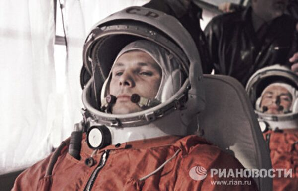 Yury Gagarin: Life of the First Man in Space in Pictures - Sputnik International