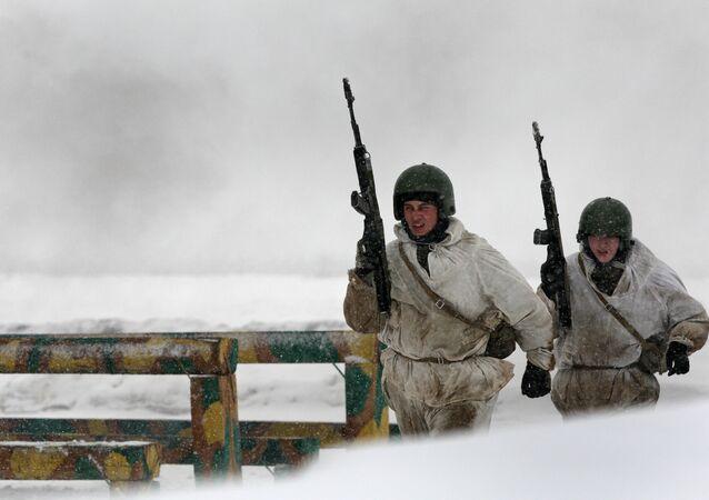 Russia holds counterterrorist exercises