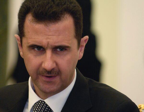 Bashar al Assad - Sputnik International