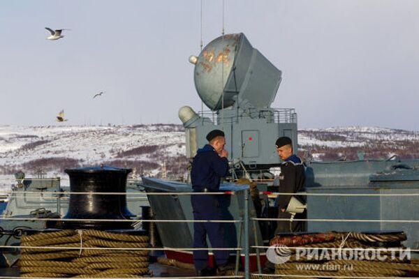 Russian Northern Fleet exercises in Barents Sea - Sputnik International