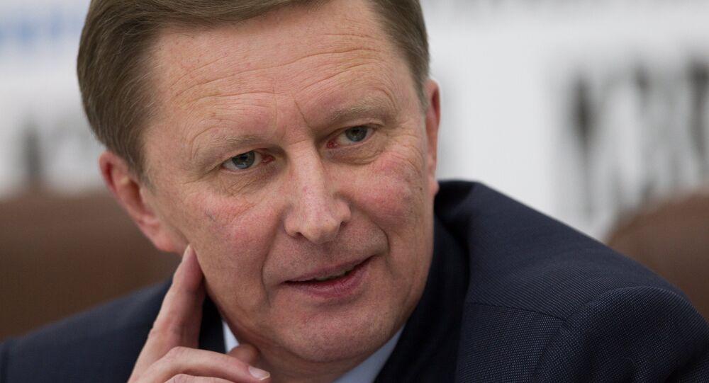 Deputy Prime Minister Sergei Ivanov