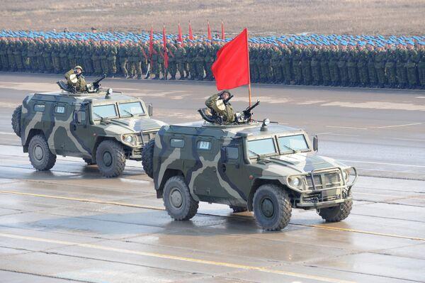 Tigr (Tiger) armored vehicles  - Sputnik International