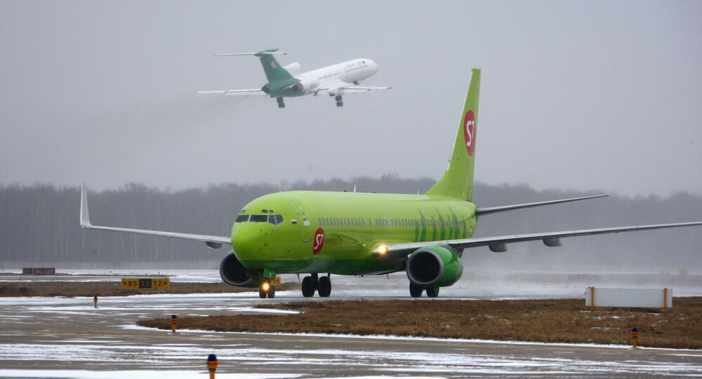 S7 Airlines Plane