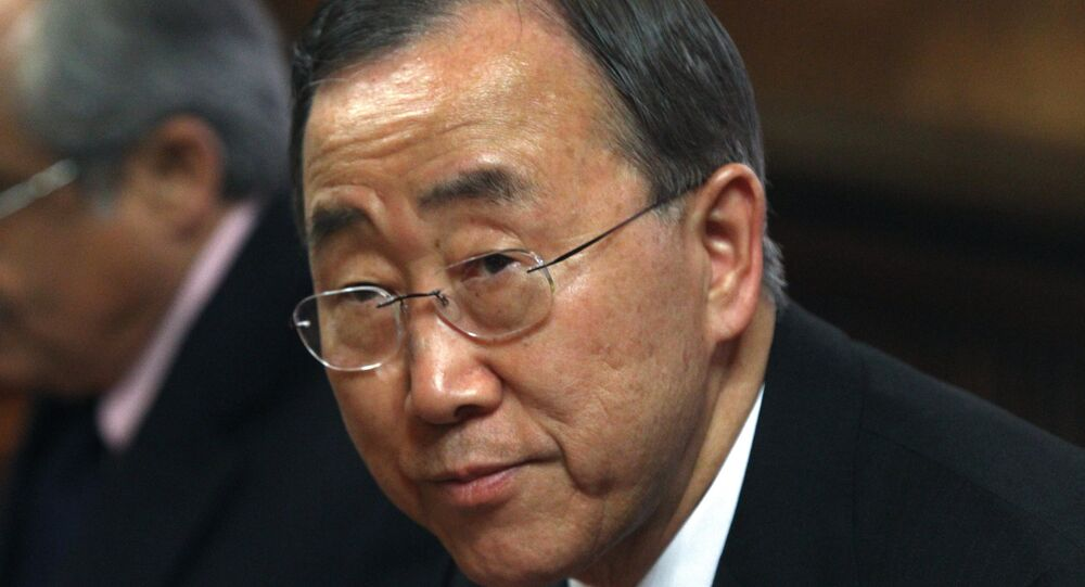 United Nations Secretary General Ban Ki-moon voiced concern Monday that Sudan is blocking re-investigation of rape charges in North Darfur.