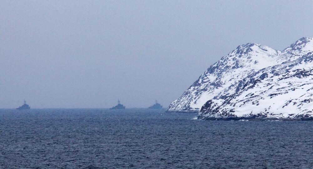 Kola Bay, Arctic Ocean