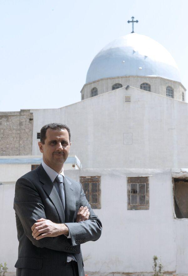 President Bashar al-Assad  - Sputnik International