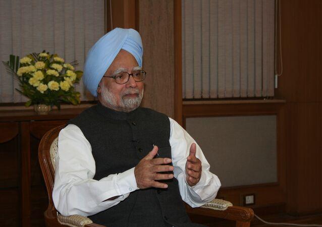 Former Indian Prime Minister Manmohan Singh