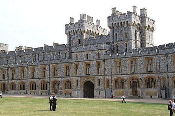 The South Wing of the Upper Ward, Windsor Castle - Sputnik International