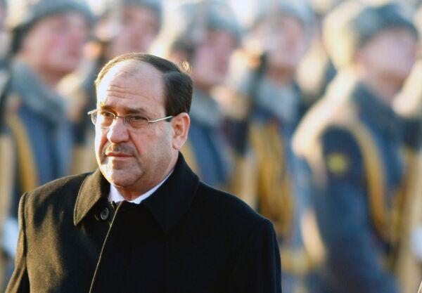 Iraqi Prime Minister Nuri al-Maliki - Sputnik International