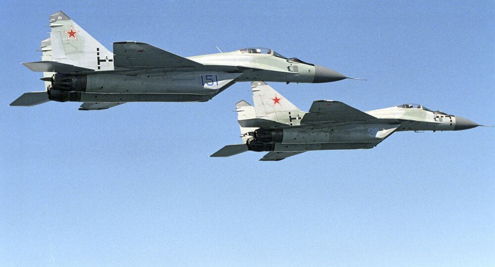 MIG-29 fighters