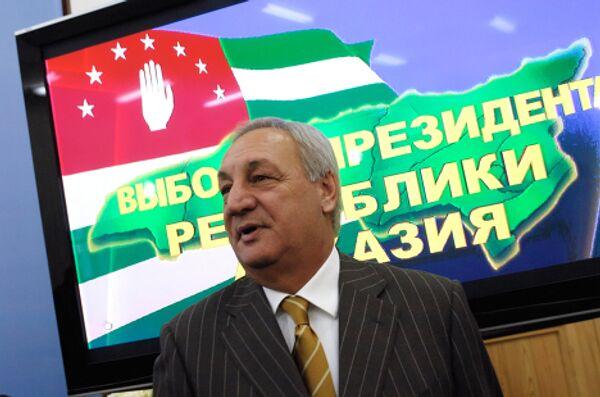 Abkhaz President Sergei Bagapsh and key points of Abkhazia's modern history - Sputnik International