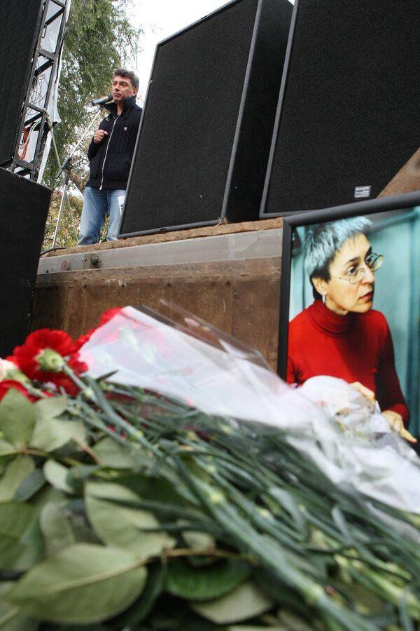 Anna Politkovskaya - Sputnik International