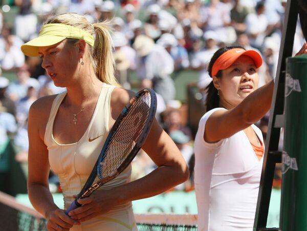 Maria Sharapova and Li Na - Sputnik International