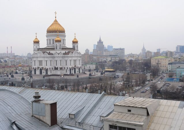View of Cathedral of Christ the Savior