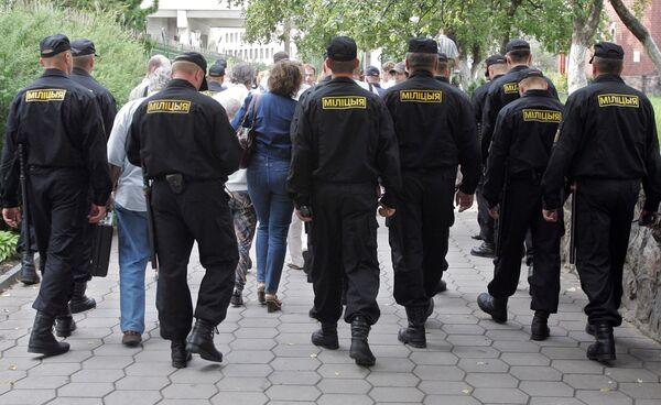 Belarus' police officers. Archive - Sputnik International