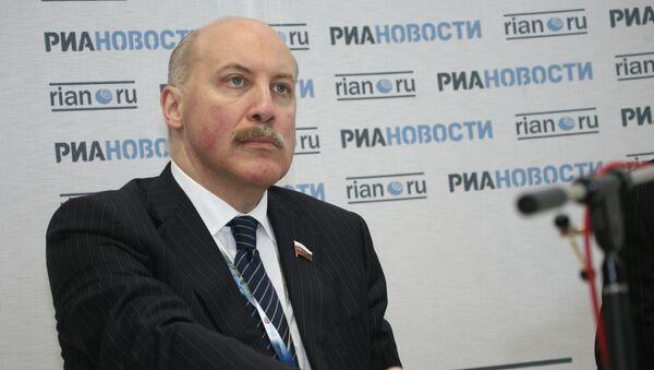 SCO Secretary General D. Mezentsev views multiplying partnership within the organisation as an antidote against anti-Russian sanctions. - Sputnik International