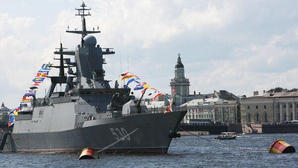 Steregushchy class corvette in Saint Petersburg - Sputnik International