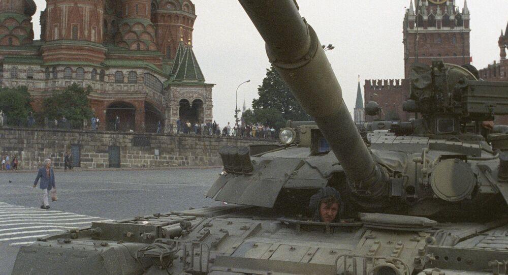 Ввод войск в Москву 19 августа 1991 года