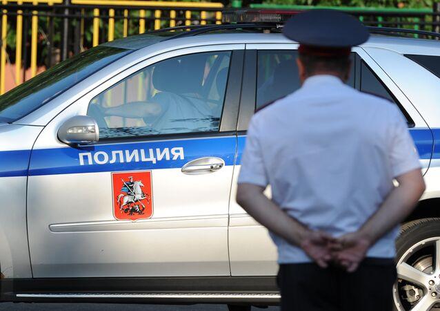 Russian policeman