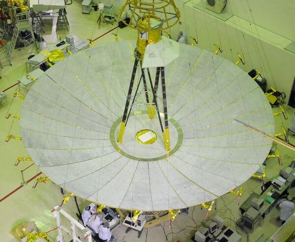 The 10-meter space radiotelescope RadioAstron - Sputnik International