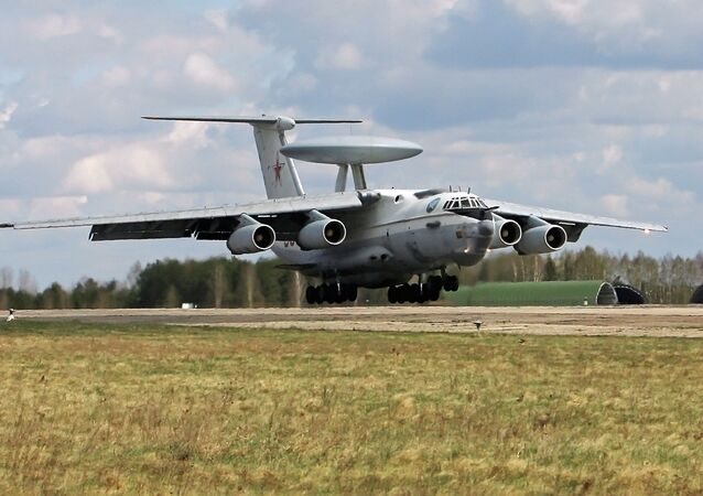 The Beriev A-50, predecessor of the A-50U, presently being introduced into the Russian Aerospace Defense Forces