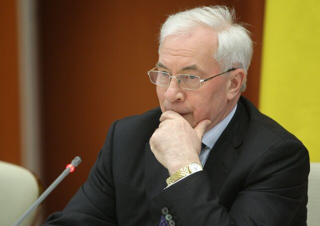 Former Ukrainian Prime Minister Mykola Azarov noted that he is disgusted with the Ukrainian military's constant shelling of heavily industrialized areas in Donbass, which he said have led to several nuclear and ecological close calls.